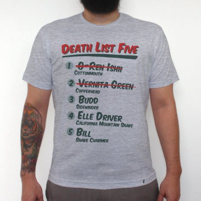 Death List Five - Camiseta Clássica Masculina