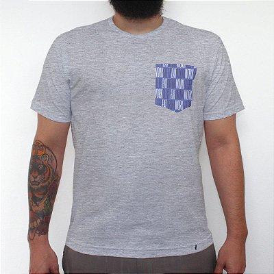Eat Drink Work Sleep - Camiseta Clássica com Bolso Masculina