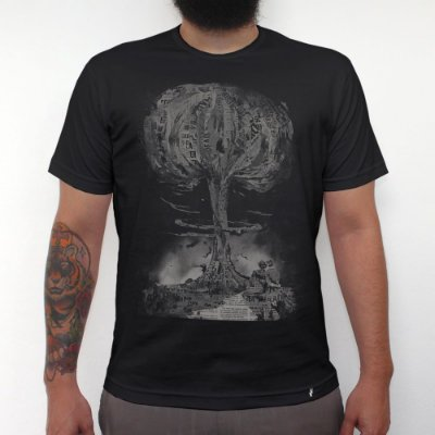 End - Camiseta Clássica Masculina