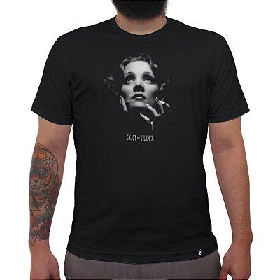 Enjoy The Silence - Camiseta Clássica Masculina