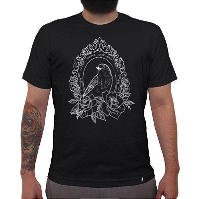 Espelho - Camiseta Clássica Masculina