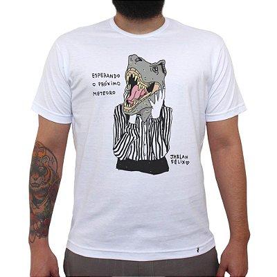 Esperando o próximo meteoro - Camiseta Clássica Masculina