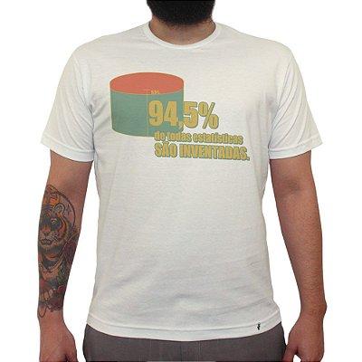 Estatísticas - Camiseta Clássica Masculina