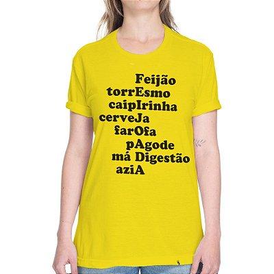 FEIJOADA - Camiseta Basicona Unissex