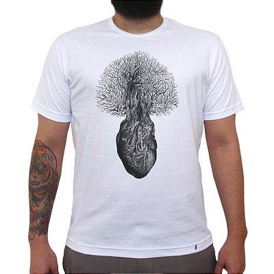 Floresta Interior - Camiseta Clássica Masculina