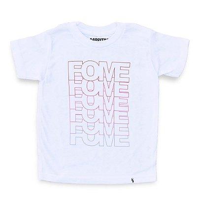 Fome Fome Fome Fome - Camiseta Clássica Infantil