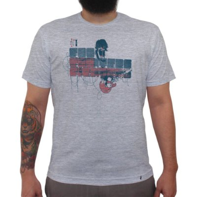 Foo Fighters - Camiseta Clássica Masculina