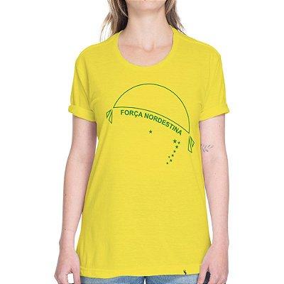 Força Nordestina - Camiseta Basicona Unissex