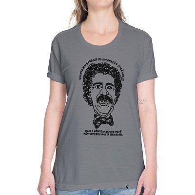 Frases de Superação - Camiseta Basicona Unissex