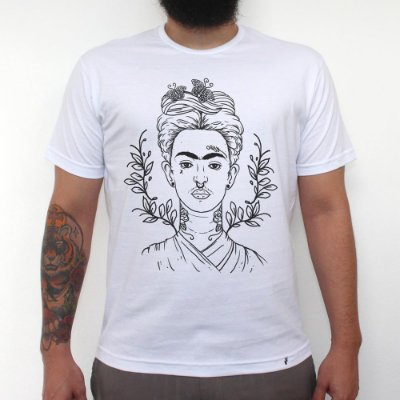 Frida - Camiseta Clássica Masculina