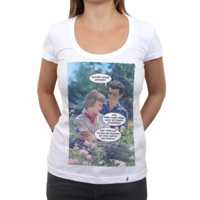 Godard - Camiseta Clássica Feminina
