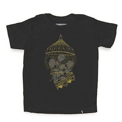 Golden Cage - Camiseta Clássica Infantil
