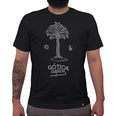 Gótica Tropical - Camiseta Clássica Masculina