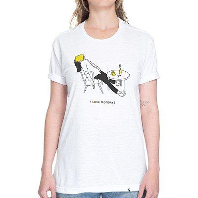 I Love Mondays - Camiseta Clássica Unissex