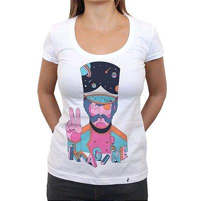 Imagine - Camiseta Clássica Feminina
