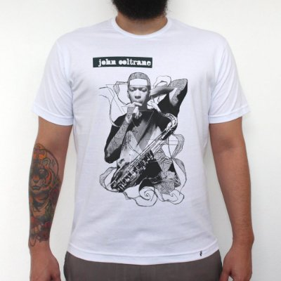 John Coltrane - Camiseta Clássica Masculina