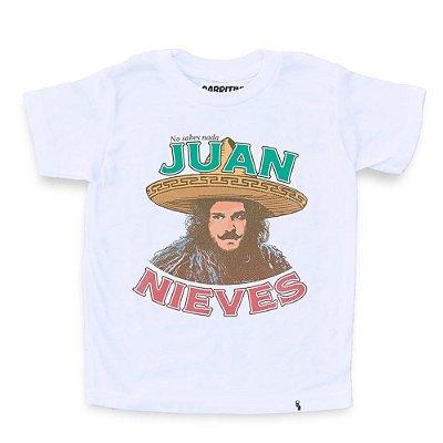 Juan Nieves - Camiseta Clássica Infantil