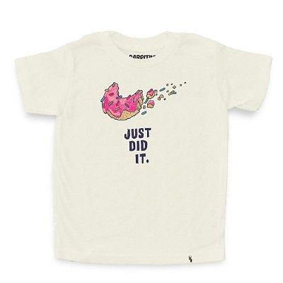 Just Did It - Camiseta Clássica Infantil