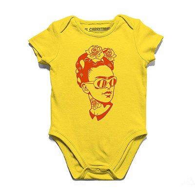 Kahlo Hipster - Body Infantil
