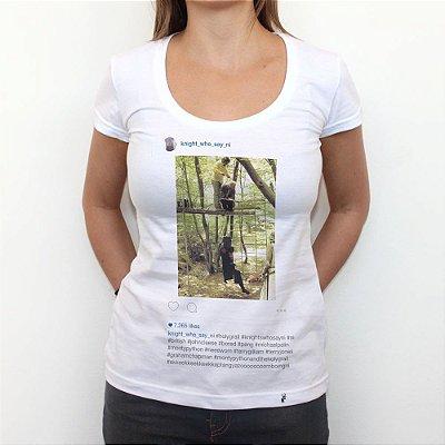 Knight Who Say Ni - Camiseta Clássica Feminina