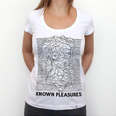 Known Pleasures - Camiseta Clássica Feminina