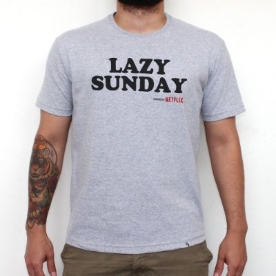 Lazy Sunday - Camiseta Clássica Masculina
