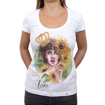 Leonina - Camiseta Clássica Feminina