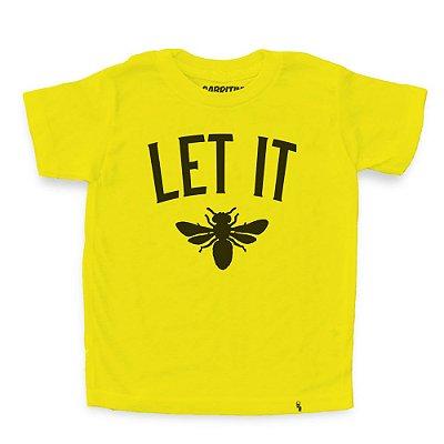 Let It Bee - Camiseta Clássica Infantil