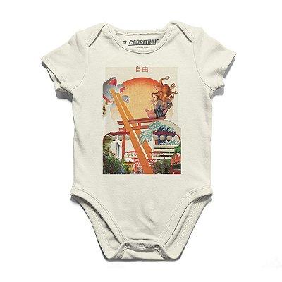 Liberdade Fields Forever - Body Infantil
