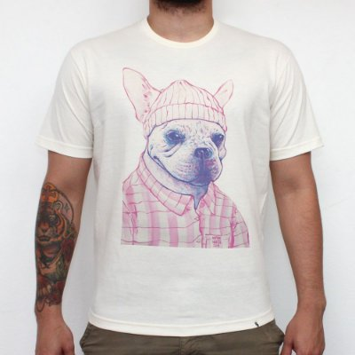 Magenta Dog - Camiseta Clássica Masculina
