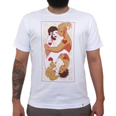 Mais Amor, Por Favor - Camiseta Clássica Masculina