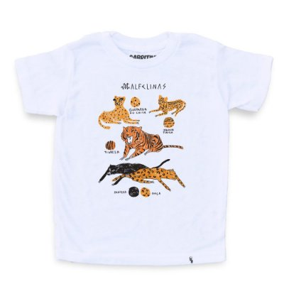 Malfelinas - Camiseta Clássica Infantil