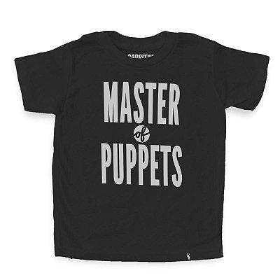 Master of Puppets - Camiseta Clássica Infantil