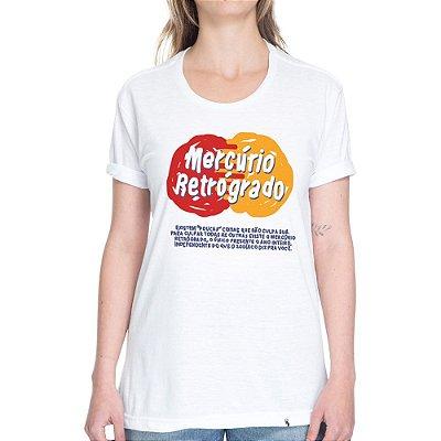 Mercúrio Retrógrado - Camiseta Basicona Unissex