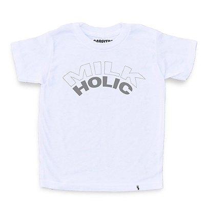 Milk Holic - Camiseta Clássica Infantil