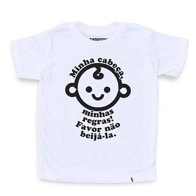 Minha Cabeça, Minhas Regras - Camiseta Clássica Infantil