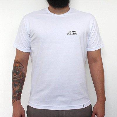 MINI TIPO MENOS BOLETOS - Camiseta Clássica Masculina