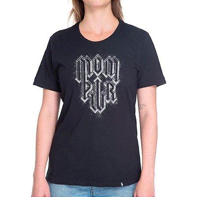 Mom Pwr - Camiseta Basicona Unissex