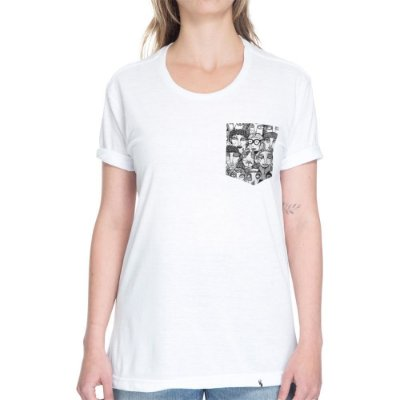 Multidão PB - Camiseta Clássica com Bolso