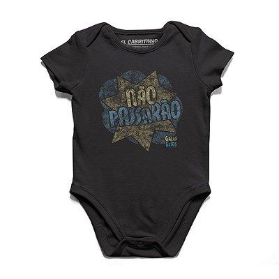 Não Passarão - Body Infantil