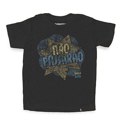 Não Passarão - Camiseta Clássica Infantil