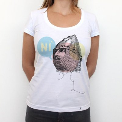 Ni - Camiseta Clássica Feminina