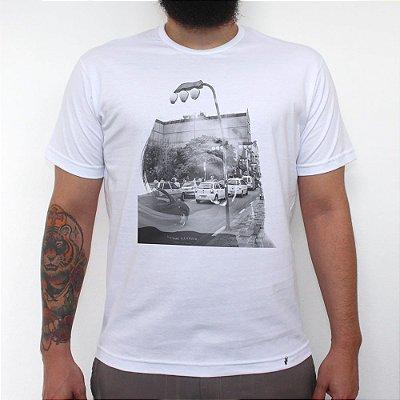 Nihon x Burajiru - Camiseta Clássica Masculina