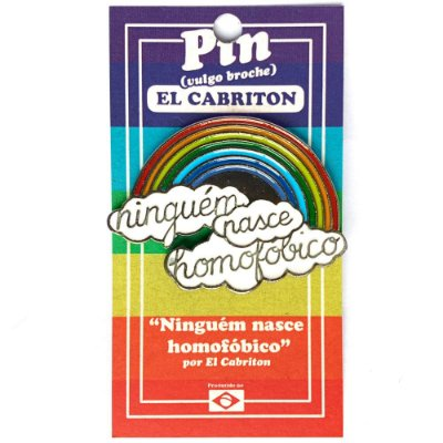 Ninguém Nasce Homofóbico - Pin