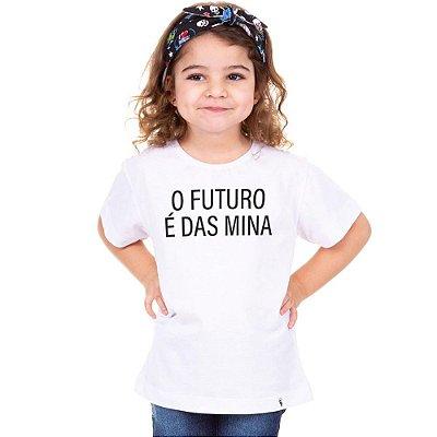 O Futuro é das Mina - Camiseta Clássica Infantil