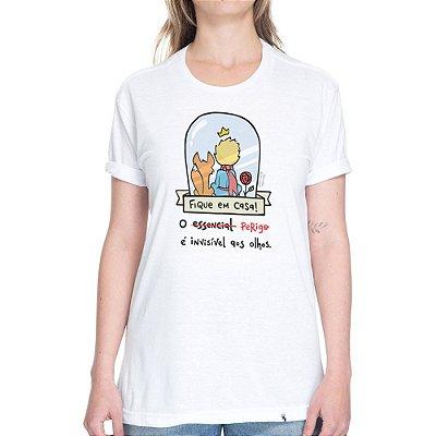 O Perigo É Invisível aos Olhos #cestabasica - Camiseta Basicona Unissex
