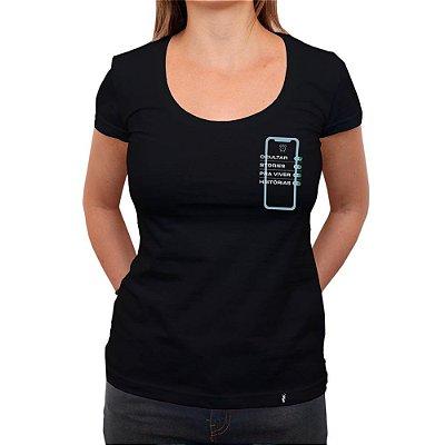 Ocultar Stories - Camiseta Clássica Feminina