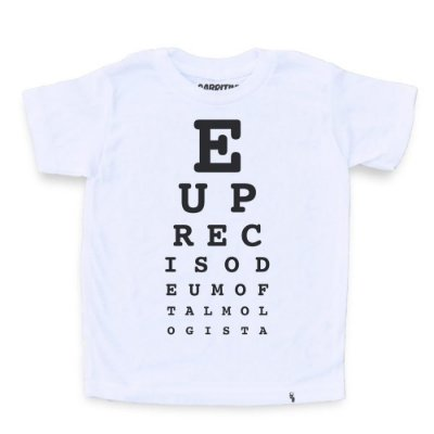 Oftalmologista - Camiseta Clássica Infantil