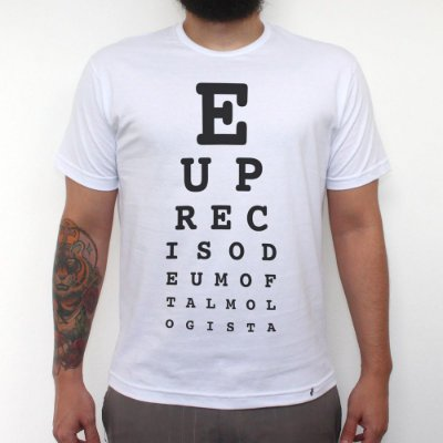 Oftalmologista - Camiseta Clássica Masculina