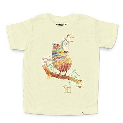 Pássaro - Camiseta Clássica Infantil
